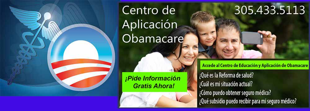 Inscripción a Obama Care en Miami y Florida